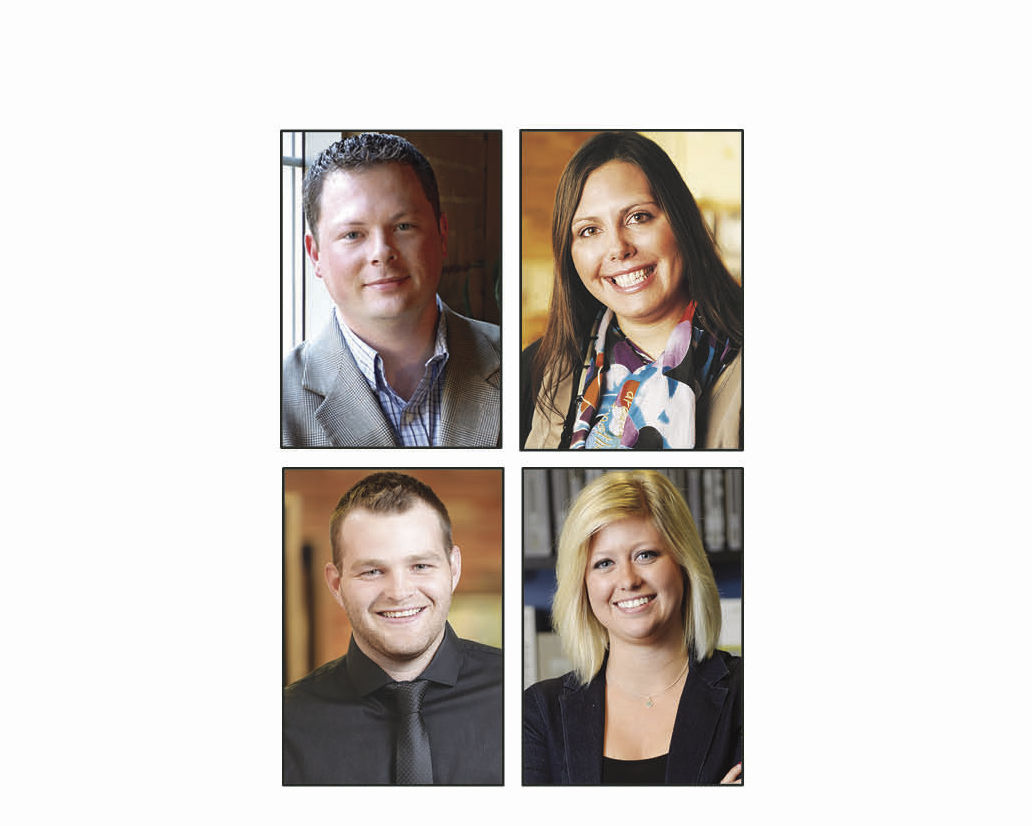 Four at DSGW are now registered architects, interior designer