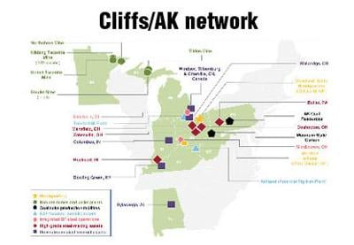 Cleveland-Cliffs to acquire AK Steel