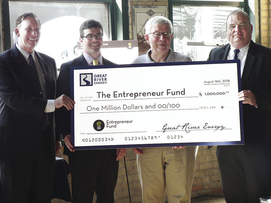 Entrepreneur Fund, Great River Energy combine resources