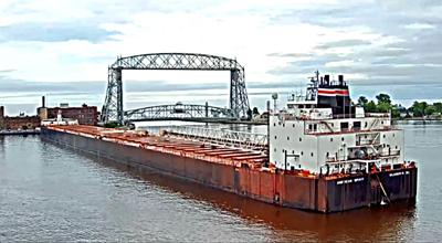 Freighter Runs Aground In Duluth Harbor Around The Region
