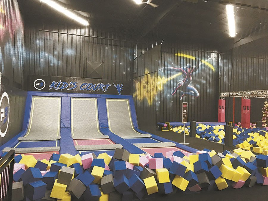 PLAN3T Extreme Trampoline Arena: A bouncing good time for all ages