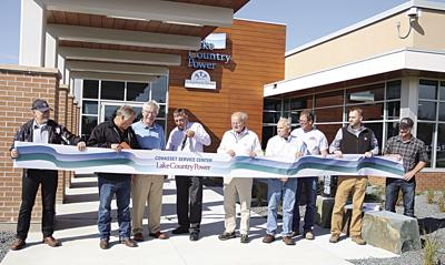 Lake Country Power dedicates Cohasset Service Center