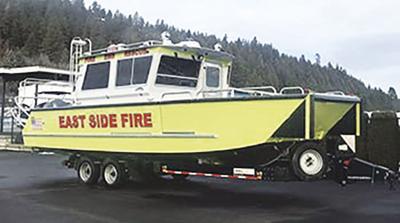 Fire District adds Lake Assault Boats fireboat