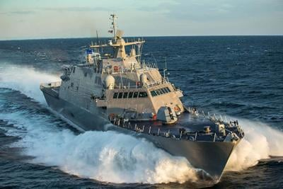 Commissioning of Naval ship in Duluth on hold