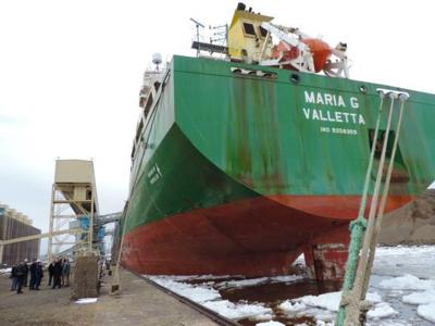 First saltie of season arrives in Twin Ports