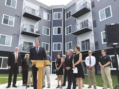 Grand Opening held for apartment complex