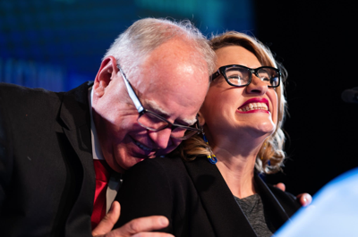 Walz, Flanagan bring 'unlikely friendship' to Minnesota governor's office