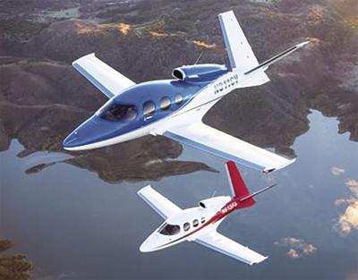 Cirrus Aircraft unveils Generation 2 Vision Jet