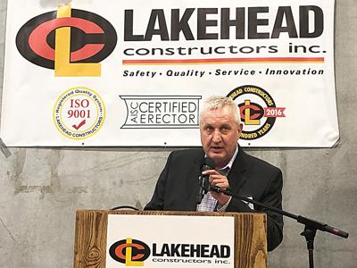 Lakehead Constructors celebrates new Superior structure