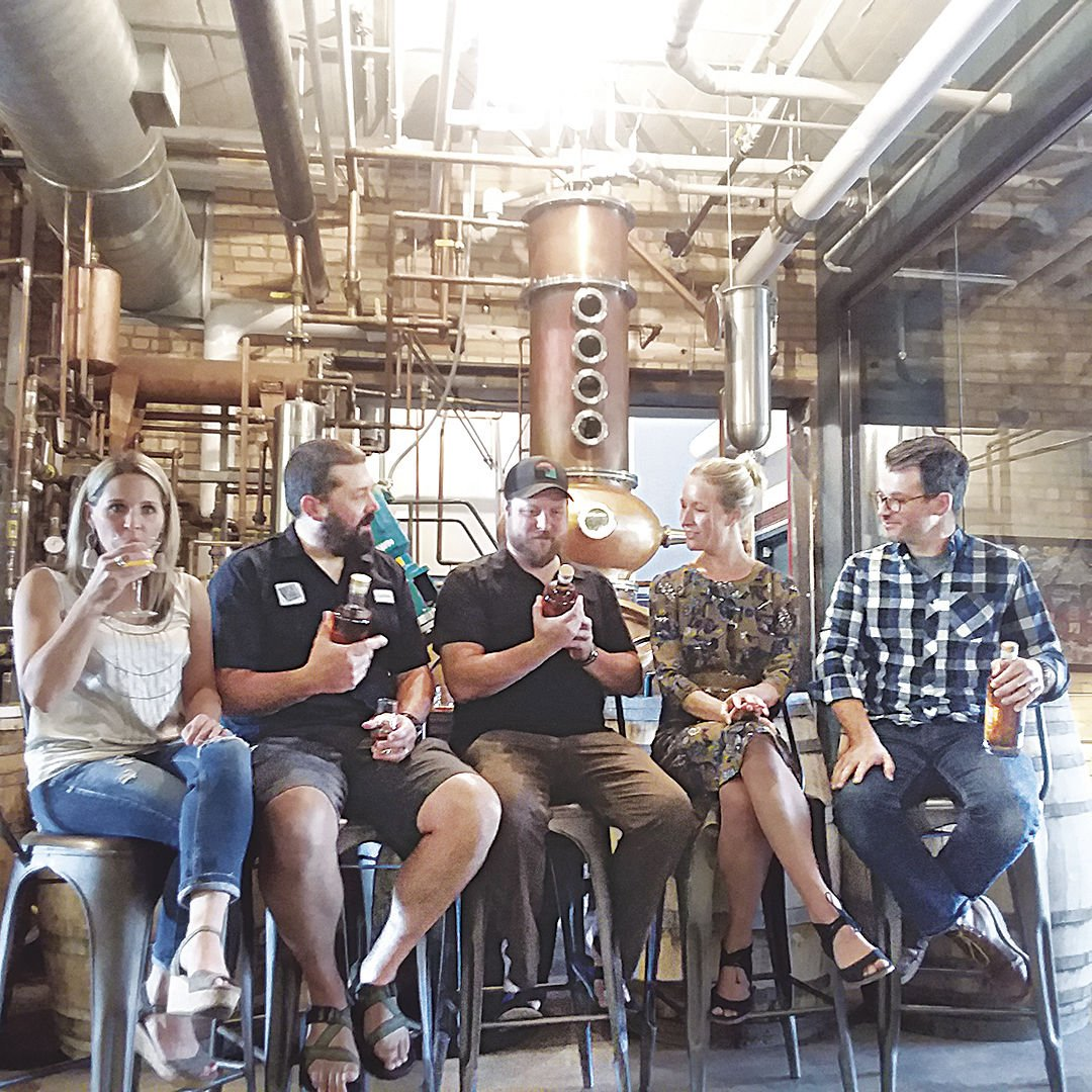 Spirits are high as Bent Paddle and Vikre Distillery release a whiskey five years in the making