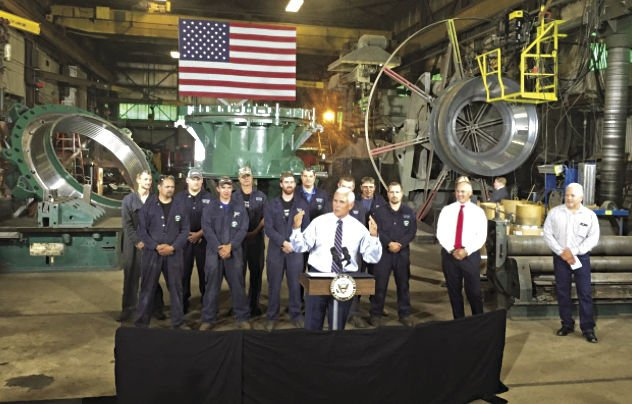 Pence visits Duluth to support Stauber and tout mining