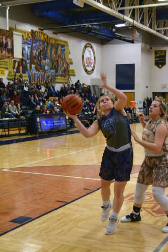 Cadillac girls rout Gaylord