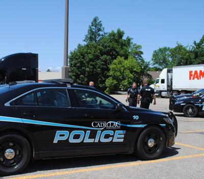 Police find suspected meth in semi in Cadillac parking lot