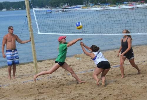 Beach Volleyball Bingo
