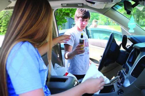 Marion students give teachers an end of the year surprise