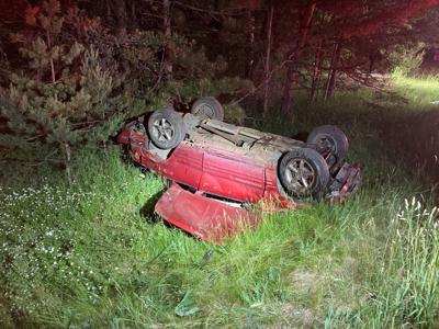 A 37-year-old Louisiana man dies in single vehicle crash Wednesday night near Cadillac