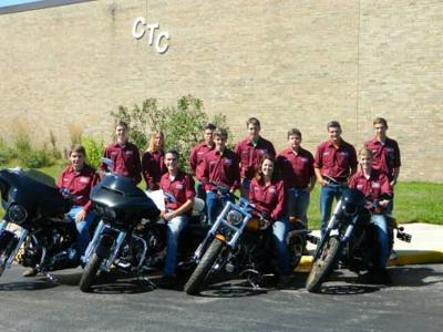 arley Davidson donates motorcycles to Wexford-Missaukee CTC