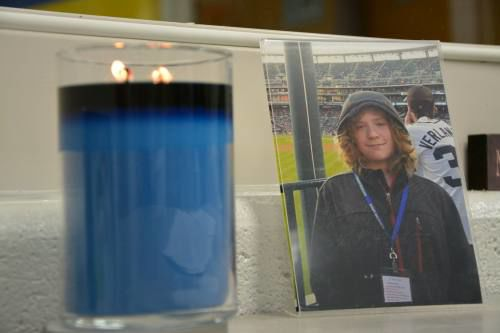 Memorials placed around Evart High School to honor missing student