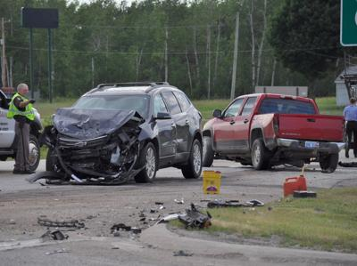 Five hospitalized after two-vehicle crash south of Cadillac on M-115