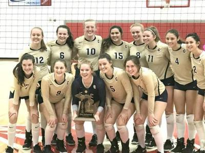 Cadillac claims another volleyball district title