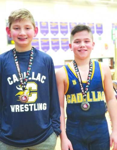 Cadillac youth wrestling program taking off