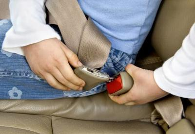 Group draws attention to Michigan's seatbelt law
