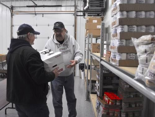 Following busy 2020, area food banks seeing dip in assistance requests