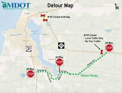 Loads not permitted for 2 MDOT bridge projects