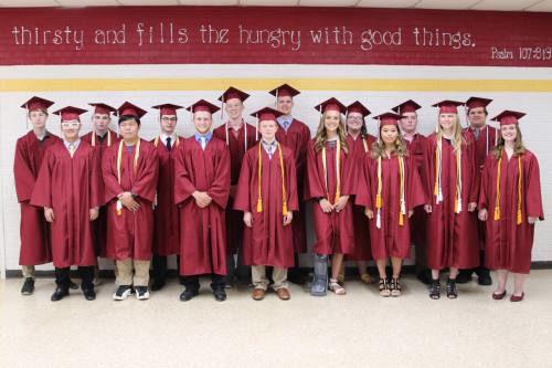 Scenes from Northern Michigan Christian's Graduation