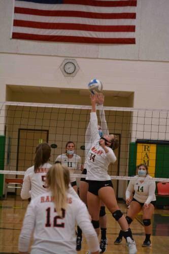 McBain, Lake City score Highland volleyball wins