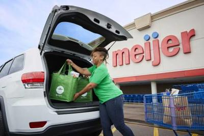 Popularity of grocery delivery services growing in U.S., Cadillac area