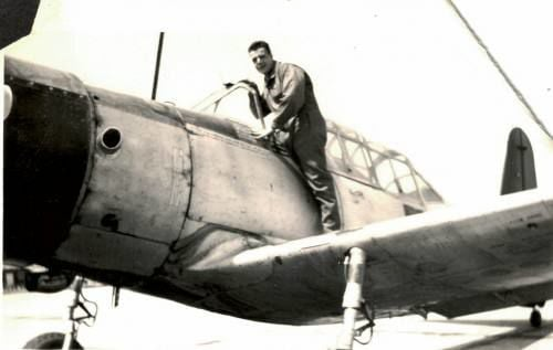 Researcher writing book about Manton fighter pilot shot down over Italy in WWII