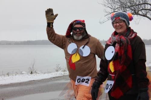 Grateful Gallopers eat up the Thanksgiving Day 5k route