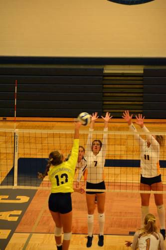 Cadillac claims title at volleyball invite