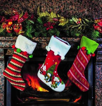 why do we put stockings by the fireplace