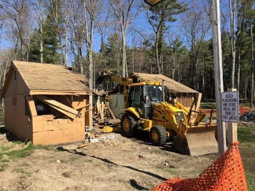 Crews Begin Demolition Of Kenwood Bathroom, Construction Of Bathhouse