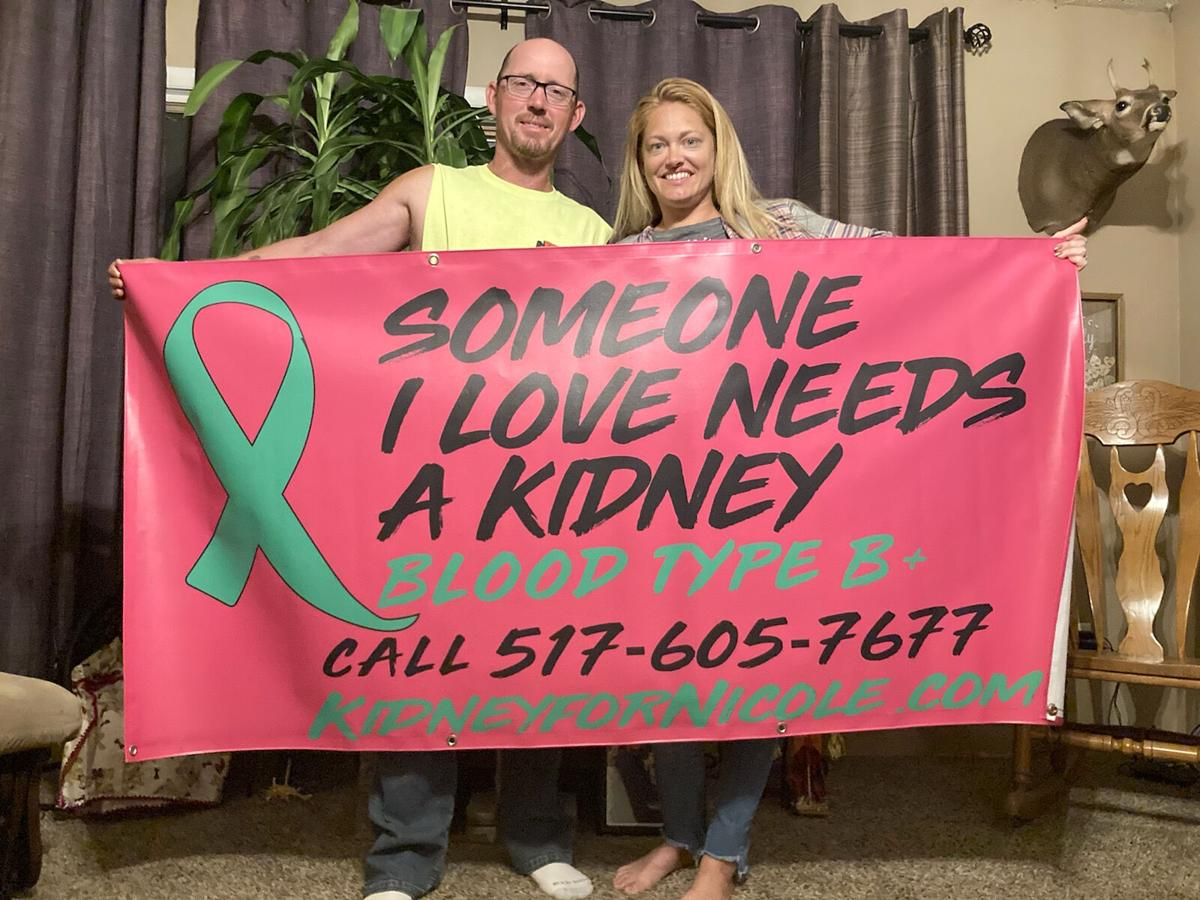 Marion woman has a story to tell about her life, kidneys