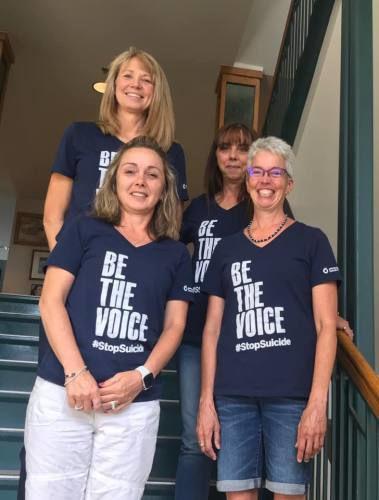 County employees raising suicide awareness