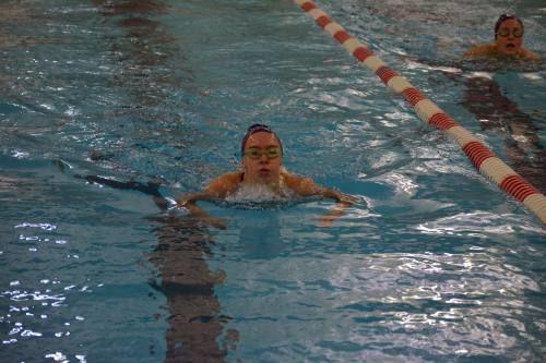 Cadillac hosts first swim meet
