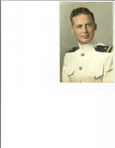 Stationed in Pearl Harbor but at sea during attack