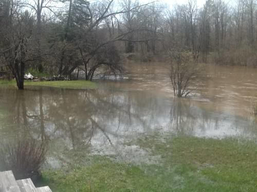 Manistee, Muskegon rivers swollen with rain runoff; flooding possible today
