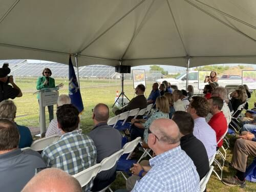 City, Consumers Energy celebrate completion of solar farm at Mitchell Corp. site