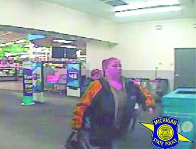 Cadillac MSP say they have identified woman suspect in