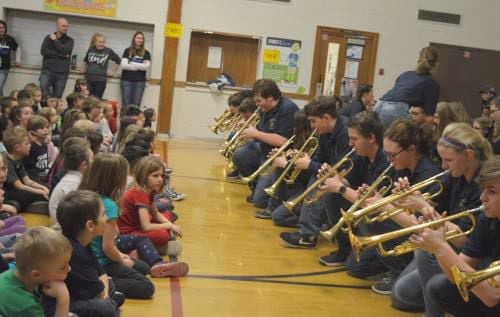 Franklin Elementary students wrap up 'Wonder Week' with jams form