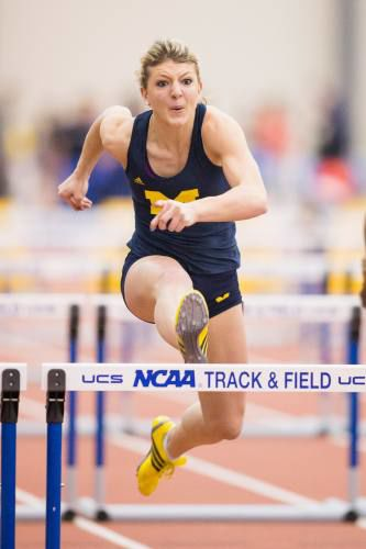 Sami Michell rediscovers her love of track
