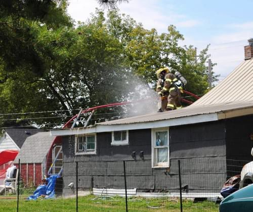 Cadillac house fire 'could've been a lot worse'