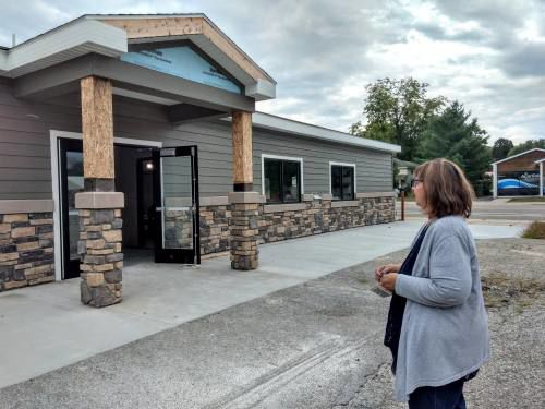 Long held dream under construction in downtown Mesick