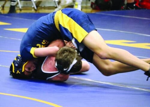 Pine River undefeated, Cadillac wins 2 at wrestling quad