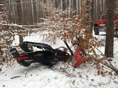 Big Rapids man dead after snowmobile crash in Boon Township