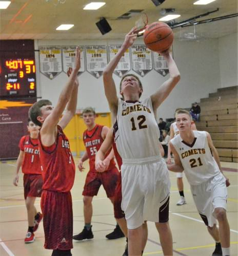 Trojans pull away from NMC in second half